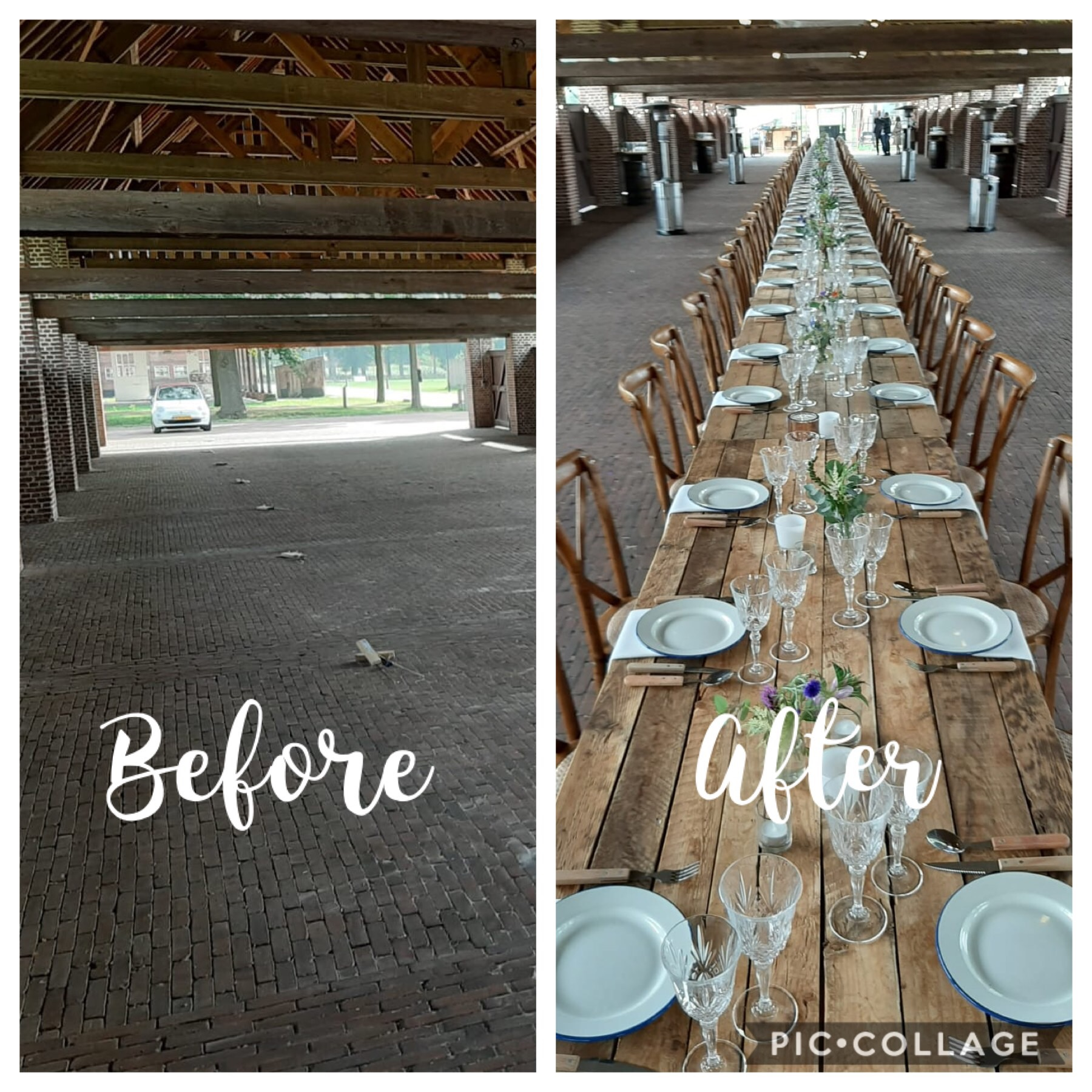 Before & After | Diner styling