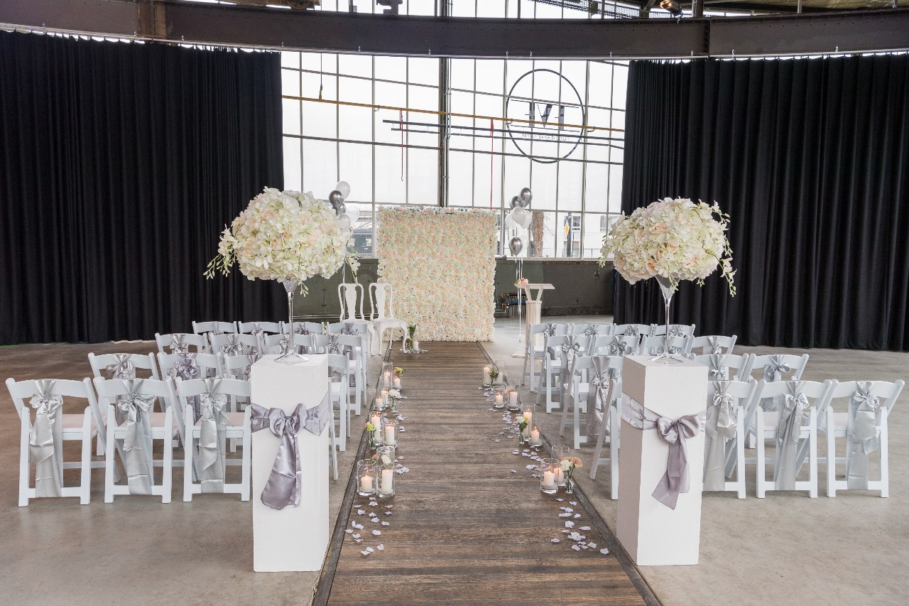 Classic chique industrial wedding