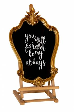 You will forever be my always decoratie bord