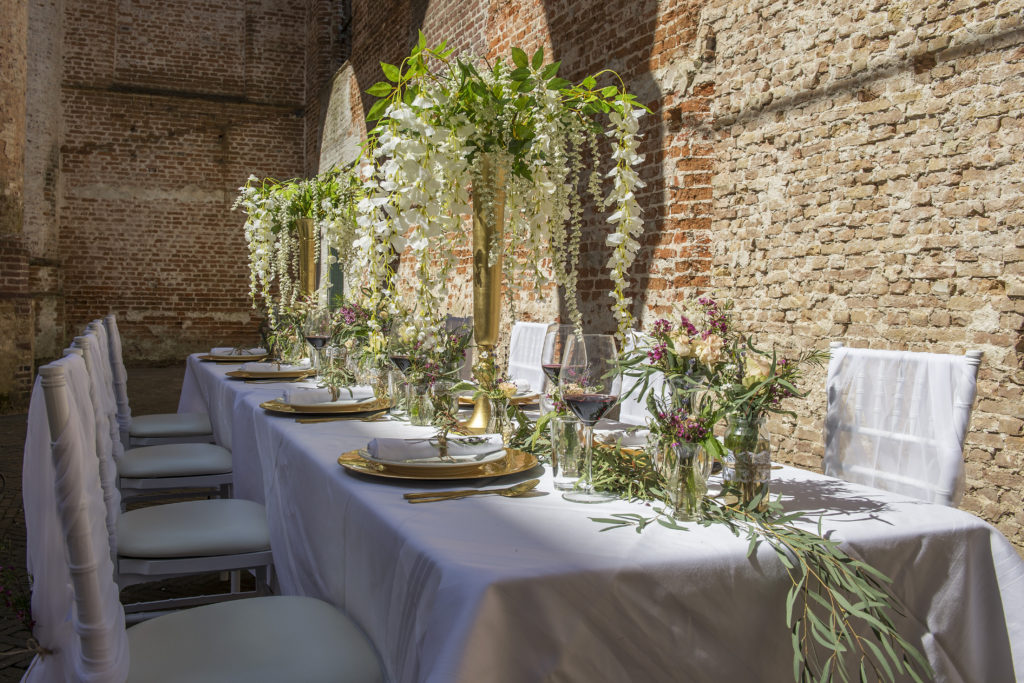 Italiaanse wedding styling verzorgd door In Style Styling