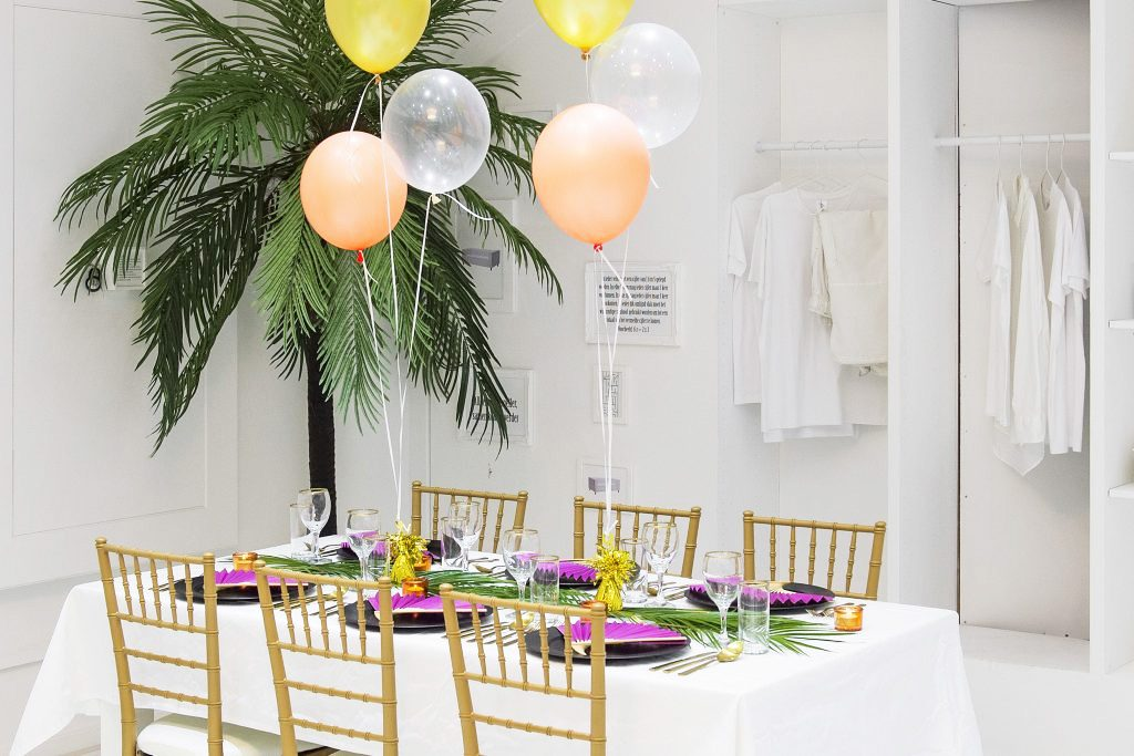 Thema: tropical chique in style styling en decoraties