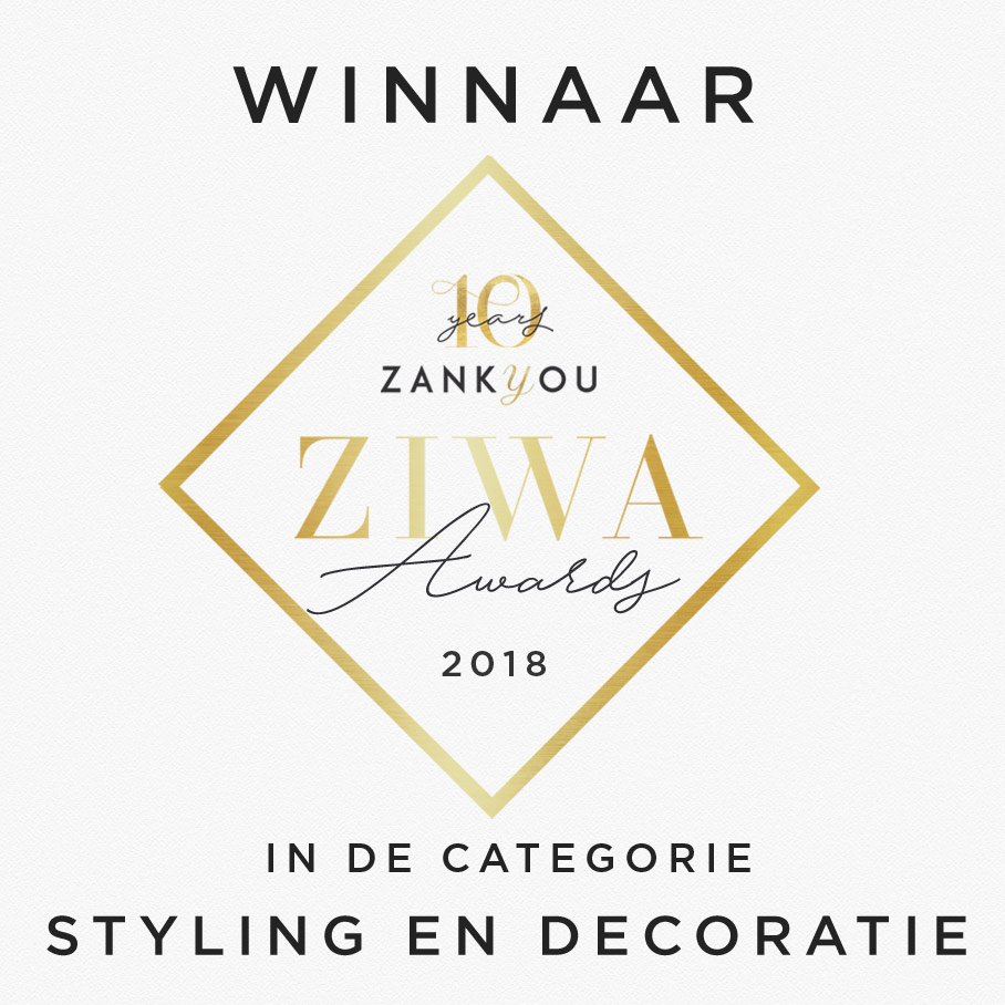 Winnaar ZIWA Award Styling & Decoraties