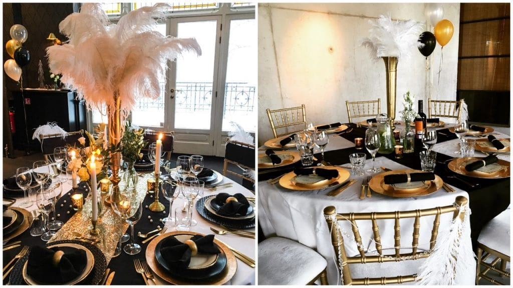 Great Gatsby kerst thema